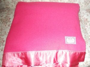 Eatons Haddon Hall wool blanket double size