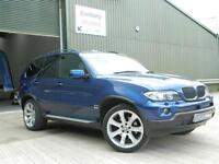 BMW X5 3.0d Le Mans Blue Sport Edition Station Wagon 5d 2993cc auto