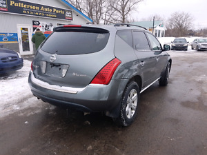 2006 nissan murano awd 172k  certified etested pattersonauto.ca Belleville Belleville Area image 2