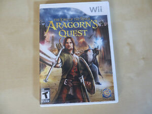 Nintendo Wii Game - The Lord of the Rings Aragorn's Quest