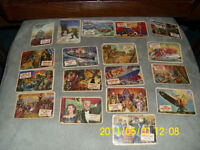 HEADLINER COLLECTOR CARDS FROM THE 50's