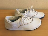 Nike Lunarlon Duet Classic Women's Golf Shoes White Size UK 5.5, Eur 39-BRAND NEW-
