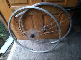 Hybrid bike wheel set 700c