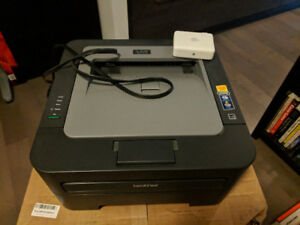 Brother HL-2240D Duplex Laser Printer w Apple Wireless Adapter