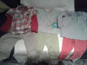 Vêtements bébé à vendre