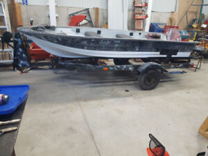 Your choice of 14' or 16' boat, motor, trailer for <$2000. DELIV