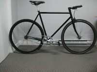 Fixed-gear Surly Steamroller (56cm)