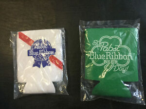 58 PABST AND 46 PABST ST. PATRICK'S DAY BEER COOLIE COVERS