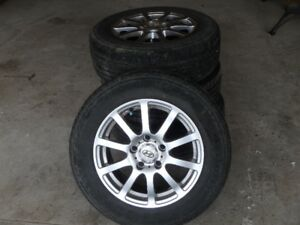 "Firestone 15"" Summer Tires and Rims"