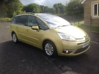 2009 58 CITROEN C4 GRAND PICASSO 1.6 HDI 7 seater MPV exclusive TOP OF RANGE MINT FDSH