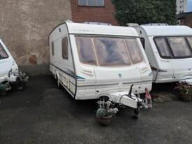 ABBEY VOUGE 418 FIXED END BED 2/4 BERTH