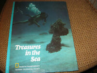 LIVRE NATIONAL GEOGRAPHIC SOCIETY - TREASURES IN THE SEA 1972 Laval / North Shore Greater Montréal Preview