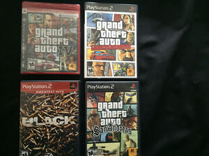 Sony Playstation PS3 And PS2 games