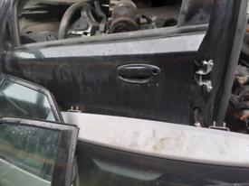 Door black Chevrolet aveo