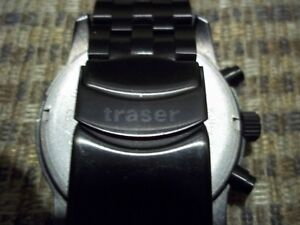 Traser H3 T25 Classic Chronograph Big Date Watch PVD-Coated Band Oakville / Halton Region Toronto (GTA) image 3