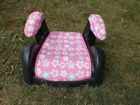 LIKE NEW: big girl car booster seat >>> SPARE SEAT >>> $15.00