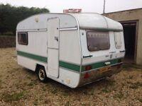 Abbey Gt212 vintage caravan