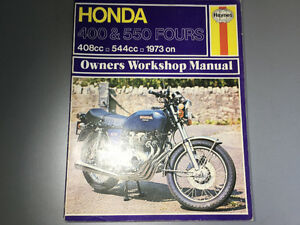 1973-1977 Honda CB400 CB550 Fours Shop Manual CB440F CB550 K1