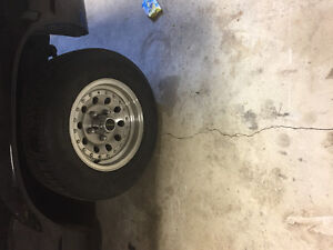 "Set of 14"" rims with 5x4.75 or 5x120.65 bolt pattern"