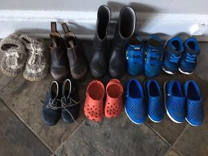 Rain boots, runners, padraigs, Toms, Blunnies, 6 to 9