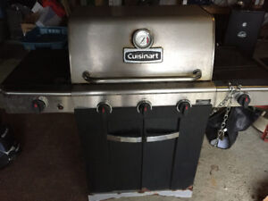 Cuisinart BBQ with side burner