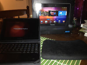 Wanting to sell my blackberry playbook. Comes with extras!
