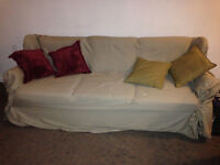 Couch and Slip Cover