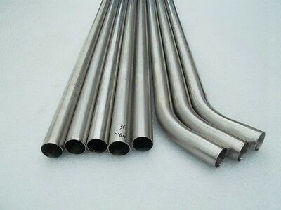 1.5 Stainless Steel Pipes Lot Of 8