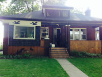 Spacious two bedroom house close to University of Windsor