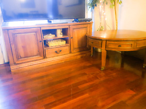 Tv stand and coffee table $150 obo