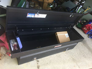 Unused Matte black weather guard truck box - 15.3 cubic ft