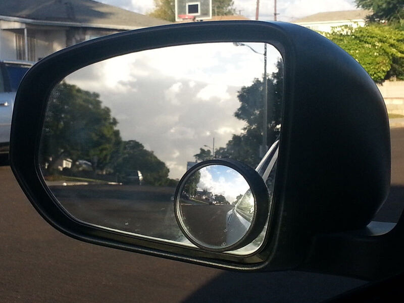 How To Use A Blind Spot Mirror Ebay