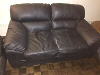 Selling matching love seat and couch