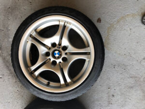 Excellent BMW M style 68 rims for E46, 330ci, 330 xi 5x120