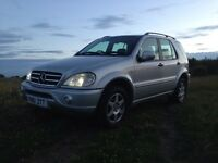 STUNNING MERCEDES ML270 CDI £1550