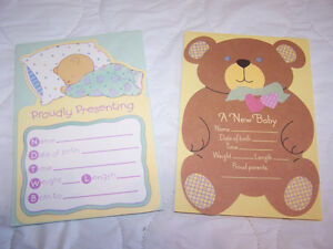 11 Baby Birth Announcements