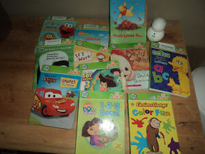 Leap frog tag with books