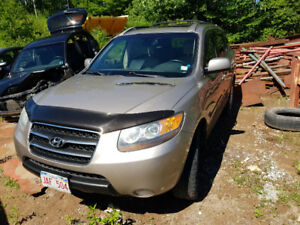 parting out 2008 hyundai santa fe