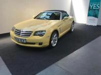 Chrysler Crossfire 3.2 auto Roadster finance avialable from £30 per week