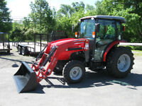 MASSEY FERGUSON 1742 CAB TRACTOR - 42hp - 0% For 72
