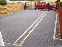 driveways ,gardens ,fencing , paving , block pavings ,turfing , garden level ,brick laying , patios