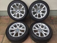 """BMW X6 E71 19"""" alloy wheels style 257 continental tyres"""