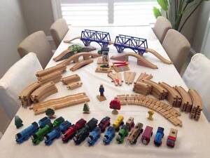 Thomas the Tank Engine and Friends Wooden track set and Brio Hornsby Hornsby Area Preview
