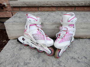 Roller Blade Brand - Kids/Teen Adjustable Size Roller Blades