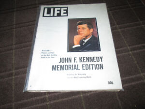 LIFE Magazine: Jack Kennedy Memorial Edition