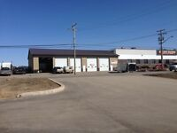 6000 square foot shop for Lease