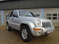 JEEP CHEROKEE 3.7 V6 LIMITED AUTO 4X4 5DR SILVER - TOP SPEC - TOWBAR