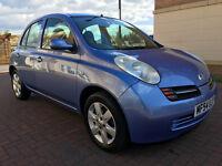 Nissan Micra 1.5 DCI 65 SE (blue) 2004