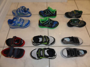 NEW!  TODDLER BOYS  RUNNING SHOES/SNEAKERS, SIZES 5-10