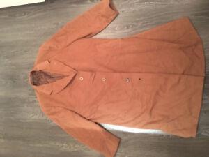 Loro Piana Baby Cashmere Dress Coat XL 46-48